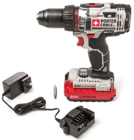Porter Cable 20V Lithium Ion Drill 2014 Review