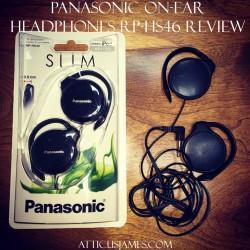 Panasonic On-Ear Headphones RP-HS46 Review
