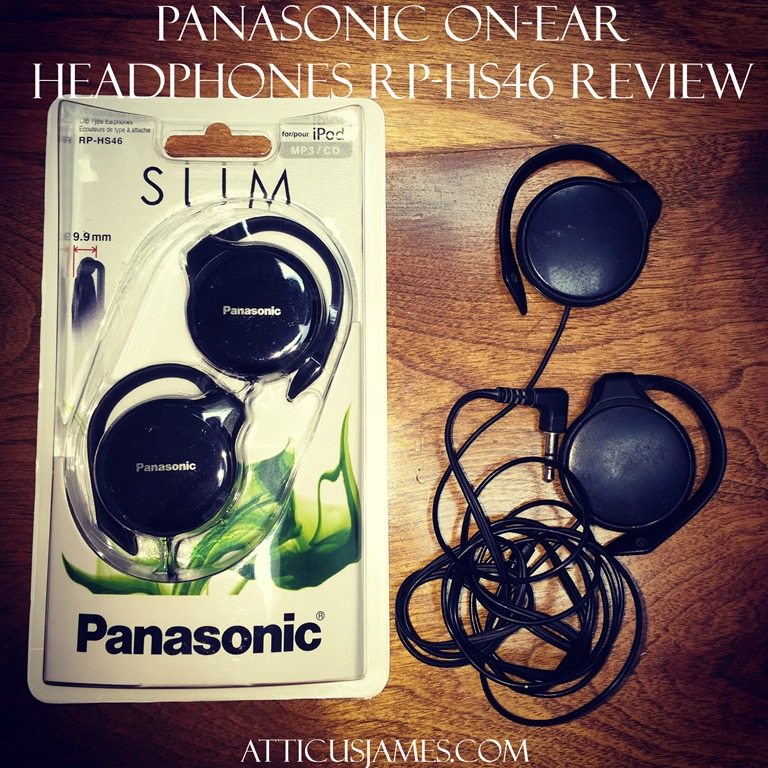 Panasonic On-Ear Headphones RP-HS46 Review