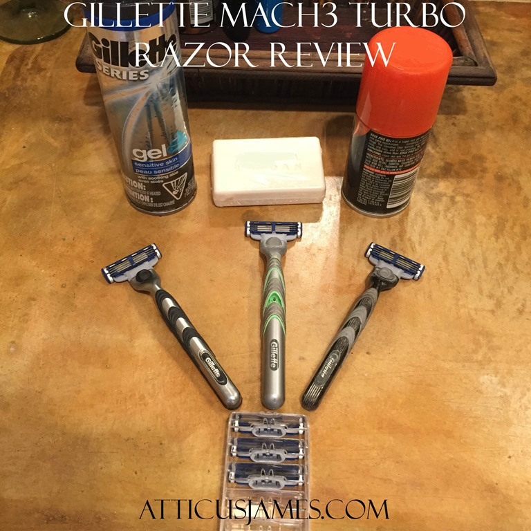 Gillette Mach3 Turbo Razor Review