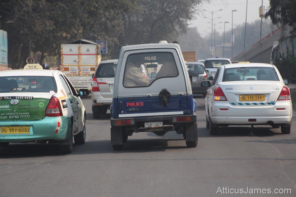 police car Delhi