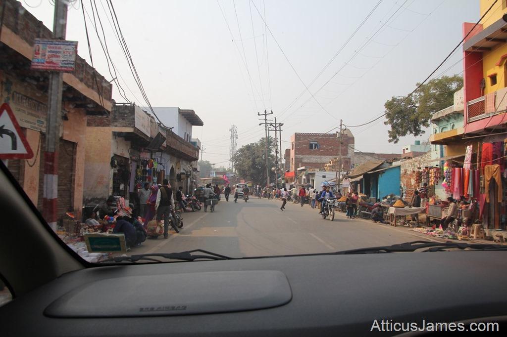 Agra street vendors