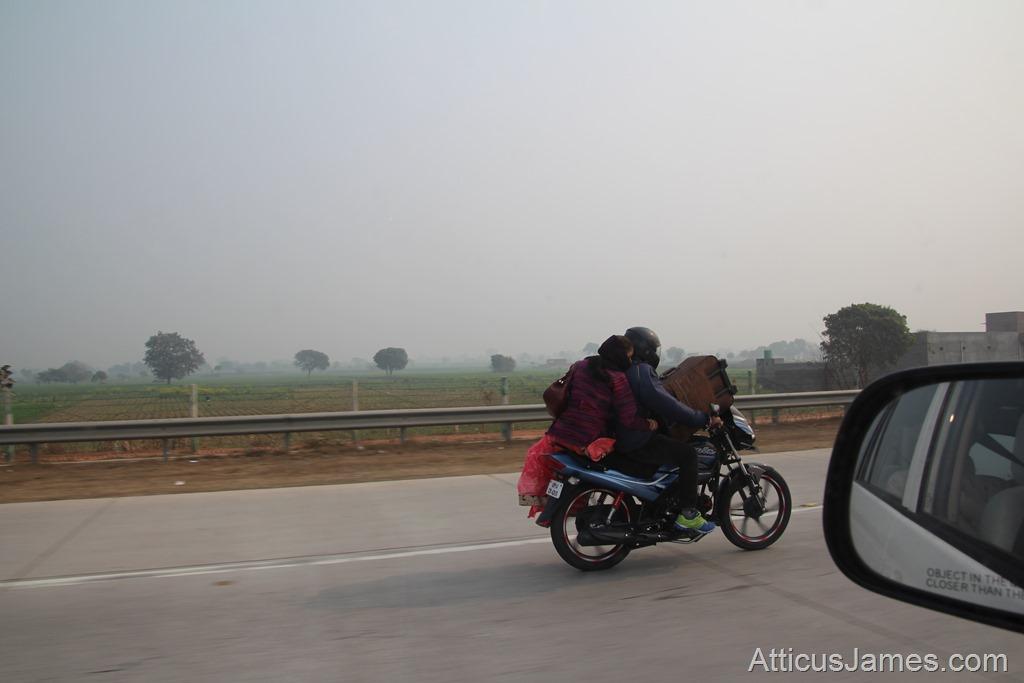 a full motorbike