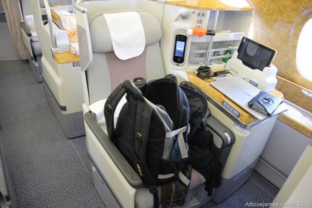 Emirates Seat System