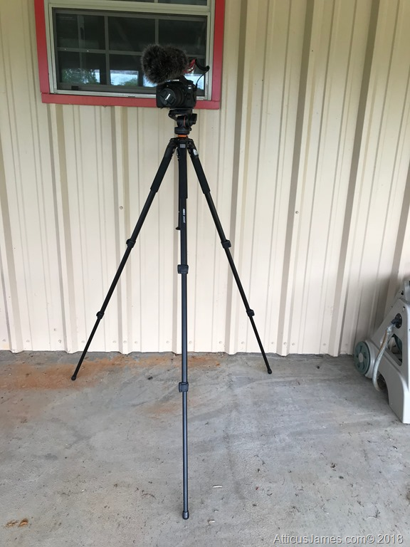 Vanguard ABEO 243AV w/ Canon 80D